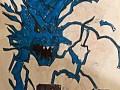 Синяя голова против Итачи